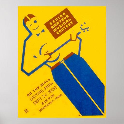 Poster de la competencia de WPA