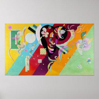 Poster de la composición IX de Kandinsky