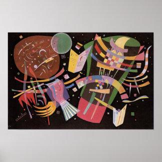 Poster de la composición X de Kandinsky