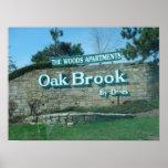 Poster de la comunidad de Oak Brook