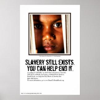 Poster de la conciencia (con el sitio de escribir)