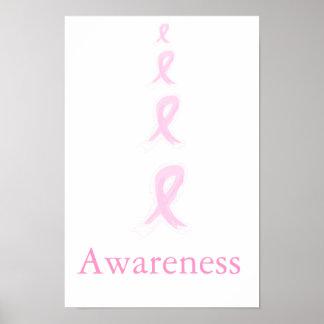 Poster de la conciencia del cáncer de pecho