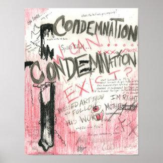 Poster de la condenación