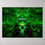 Poster de la corriente de la vida de Gaia