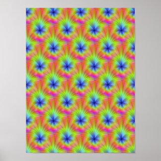 Poster de la cosecha del color