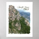 Poster de la costa de Amalfi