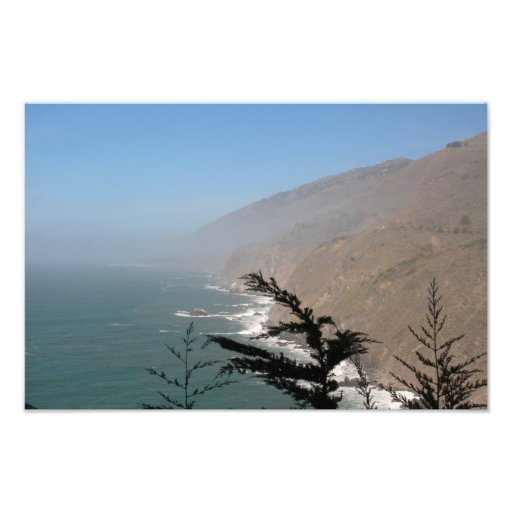 Poster de la costa de California Fotografías