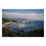 Poster de la costa de Oregon