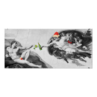 Poster de la creación de Miguel Ángel del navidad