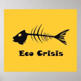 Poster de la crisis de Eco de la espina de pez