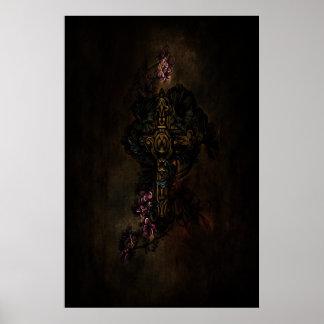 Poster de la cruz céltica