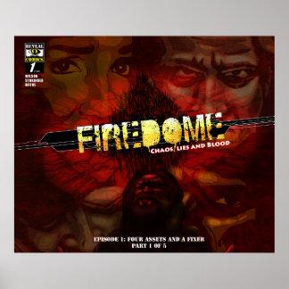 Poster de la cubierta de FireDome EP1