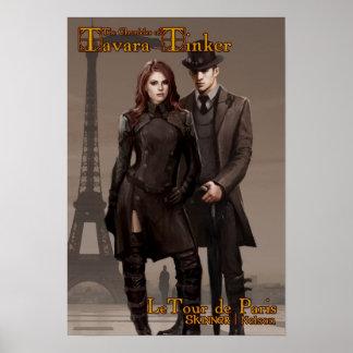 Poster de la cubierta de LeTour de París del