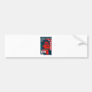 Poster de la cubierta de Sarah Palin Etiqueta De Parachoque