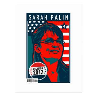 Poster de la cubierta de Sarah Palin Postales