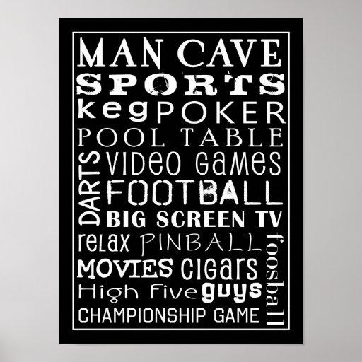 Poster de la cueva del hombre