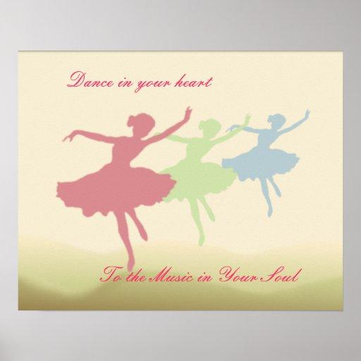 Poster de la danza