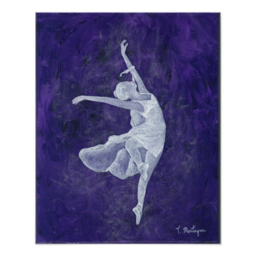 Poster de la danza de la lavanda