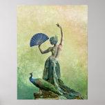 Poster de la danza del pavo real