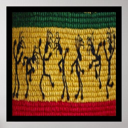 poster de la danza del reggae