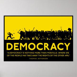 Poster de la democracia