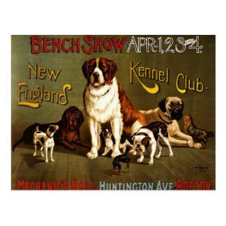Poster de la demostración del club c.1890 de la pe postal