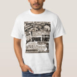Poster de la demostración del espectro del vintage camisas