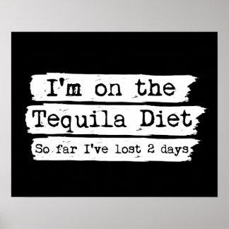 Poster de la dieta del Tequila