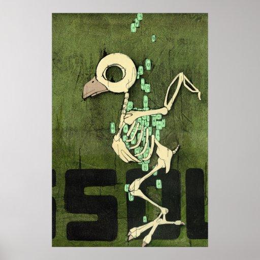 """Poster de la """"disolución"""""""