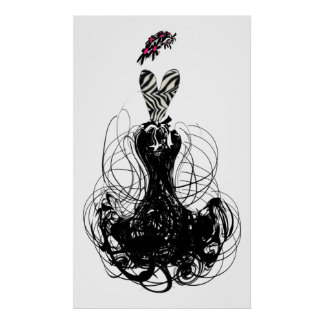 Poster de la diva de la moda