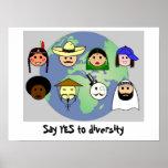 """Poster de la """"diversidad"""""""