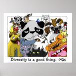 Poster de la diversidad de O&T