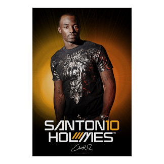 Poster de la edición especial de Santonio Holmes