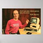 Poster de la educación de Keith Apicary