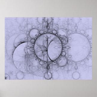 Poster de la efervescencia del fractal