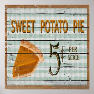 Poster de la empanada de la patata dulce