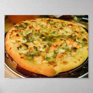 Poster de la empanada de pizza