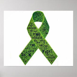 Poster de la enfermedad de Lyme