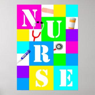 Poster de la enfermera