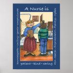 Poster de la enfermera de la escuela