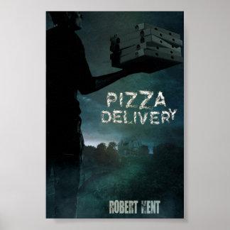 Poster de la entrega de la pizza