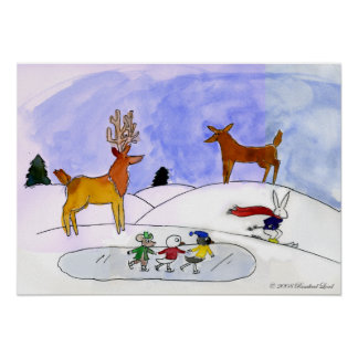 Poster de la escena de la nieve