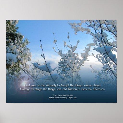 Poster de la escena de la nieve del rezo de la ser