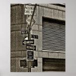 Poster de la escena de NYC Streetcorner