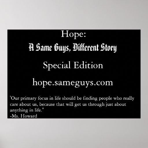 Poster de la esperanza