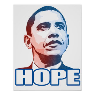 Poster de la esperanza de Obama