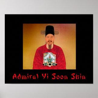 Poster de la espinilla de almirante Yi pronto