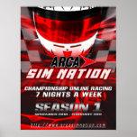 Poster de la estación 1 de la nación de Sim del Ar