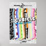 """poster de la estación una del """"theCUBICLE"""""""
