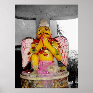 Poster de la estatua de Garuda o impresión del art